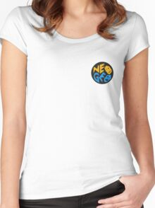 NEOGEO SNK Women's Fitted Scoop T-Shirt