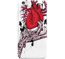 heart in my hand iPhone Case/Skin