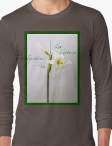 Be Inspired Long Sleeve T-Shirt
