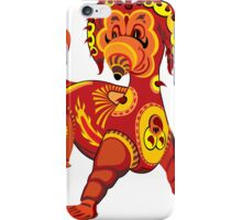 Funny Dragon Design T-Shirt iPhone Case/Skin