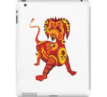 Funny Dragon Design T-Shirt iPad Case/Skin