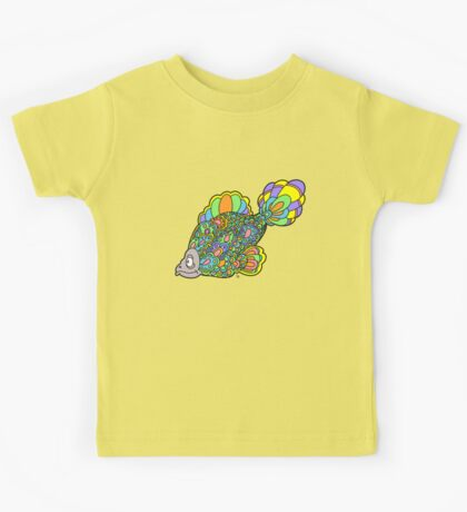 Psychedelic Fish Kids Tee