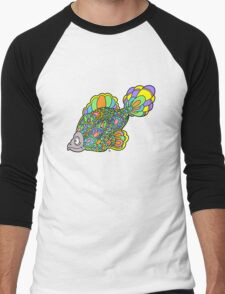Psychedelic Fish Men's Baseball ¾ T-Shirt
