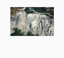 Aerial View of Niagara Falls with Snow and Ice Unisex T-Shirt