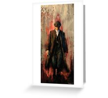 Red right hand Greeting Card