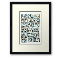 Helpless Animals Framed Print