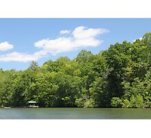 Beautiful Day on the Lake Photographic Print