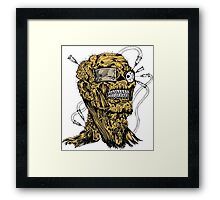 Skull Design T-Shirt Framed Print