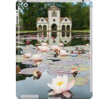 Bodnant Gardens, Lily Lake iPad Case/Skin