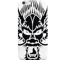 angry dragon iPhone Case/Skin