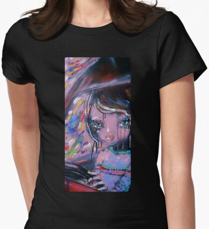Day Tripper Womens Fitted T-Shirt