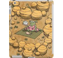 Collect ten flowers for a pavlova picnic iPad Case/Skin