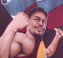 "Manny ""Pacman"" Pacquiao by billy v_"