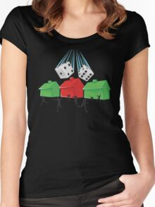 Board Game Doom Women's Fitted Scoop T-Shirt