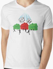 Board Game Doom Mens V-Neck T-Shirt