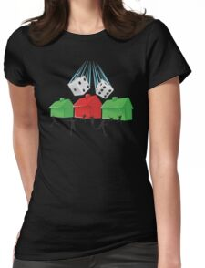 Board Game Doom Womens Fitted T-Shirt