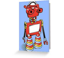 ViewBot 3000 Greeting Card