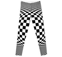 Optical Illusion Checkers  Leggings
