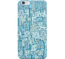 Little Robot City iPhone Case/Skin