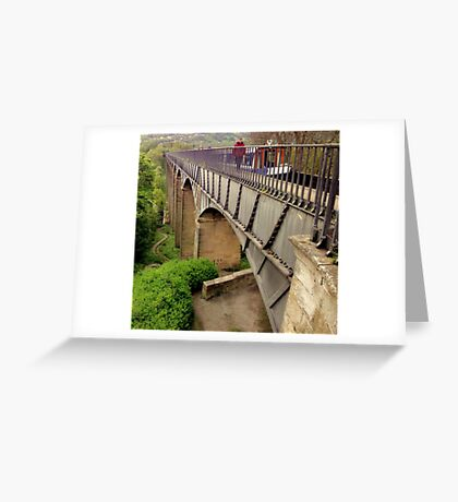 Telford Aqueduct Greeting Card