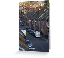In the suburbs Greeting Card