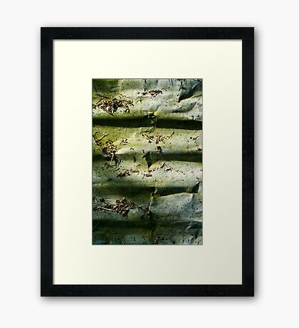 Corrugation Framed Print