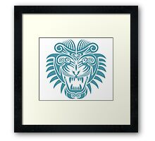 Tattoo Tiger - Year of the Tiger Framed Print