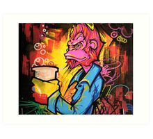 Monkey Bizness Art Print