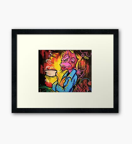 Monkey Bizness Framed Print