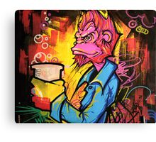 Monkey Bizness Canvas Print