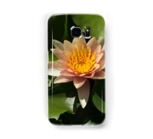 Exotic Colors - A Soft Coral Waterlily Samsung Galaxy Case/Skin