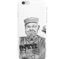 Old Man Popeye iPhone Case/Skin