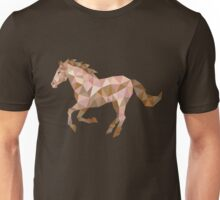 Running Horse Lowpoly Unisex T-Shirt