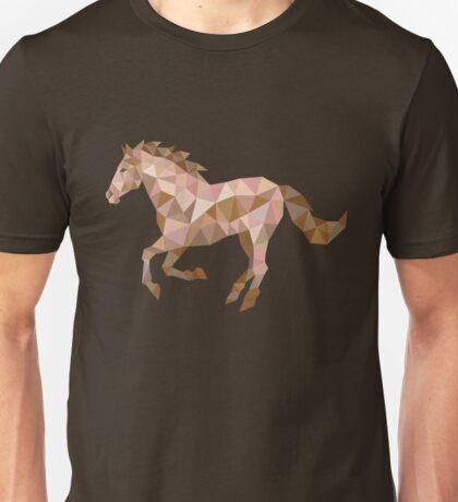 Running Horse Lowpoly Unisex T-Shirt
