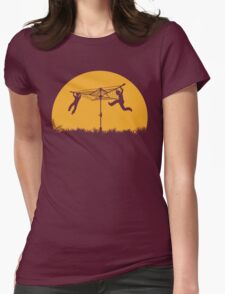 Merry Go Sunset Womens Fitted T-Shirt