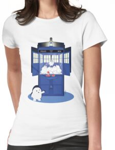 Adipose Claw Machine  Womens Fitted T-Shirt