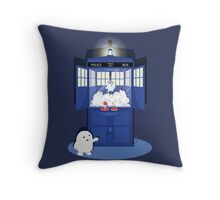Adipose Claw Machine  Throw Pillow