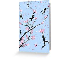 Blossom Flight Greeting Card