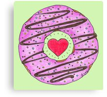 Donut Love Canvas Print