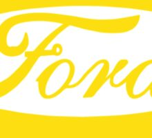 Ford Lemon Car or Truck - Yellow Sticker