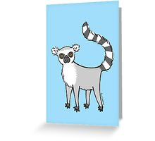 Ring Tailed Lemur Greeting Card