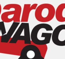 Parody Wagon - Badge Sticker