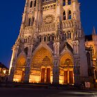 Amiens Cathedral by megative