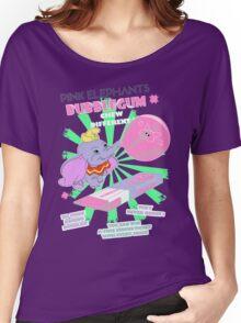 Pink Elephants Bubblegum Women's Relaxed Fit T-Shirt