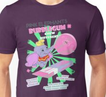 Pink Elephants Bubblegum Unisex T-Shirt