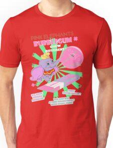 Pink Elephants Bubblegum Unisex T-Shirt