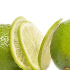 Lime fruit by Arve Bettum