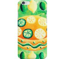 Lemons and Limes with Bowls iPhone Case/Skin