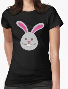 Easter bunny super cute Chibi Womens Fitted T-Shirt