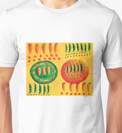 Carrots and Peas Unisex T-Shirt